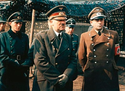 Adolf Hitler y Albert Speer